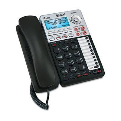 Picture of AT&T ML17939 Two-Line Speakerphone with Caller ID and Digital Answering System