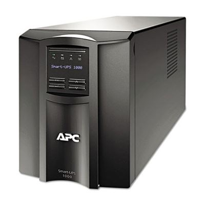 Picture of APC Smart-UPS LCD Backup System, 1000 VA, 8 Outlets, 459 J