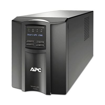 Picture of APC Smart-UPS LCD Backup System, 1500 VA, 8 Outlets, 459 J