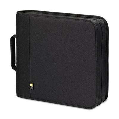 Picture of Case Logic CD/DVD Expandable Binder, Holds 208 Disks, Black
