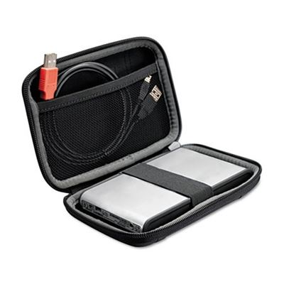 Picture of Case Logic Compact Portable Hard Drive Case, Black