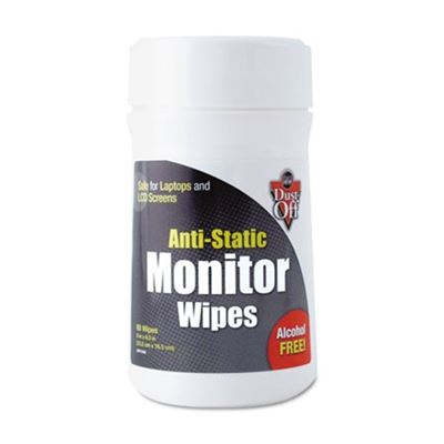 Picture of Dust-Off Premoistened Monitor Wipes