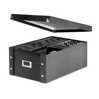 Picture of Snap-N-Store Media Storage Box, Holds 120 Slim/60 Std. Cases