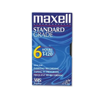 Picture of Maxell All-Purpose 6-Hour VHS Video Tape