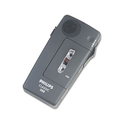 Picture of Philips Pocket Memo 388 Slide Switch Mini Cassette Dictation Recorder