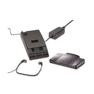 Picture of Philips 720-T Desktop Analog Mini Cassette Transcriber Dictation System