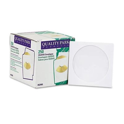 Picture of Quality Park CD/DVD Sleeves, 250/Box