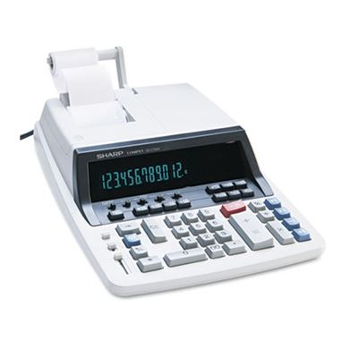 Picture of SHARP QS-2760H Two-Color Ribbon Printing Calculator, Black/Red Print, 4.8 Lines/Sec