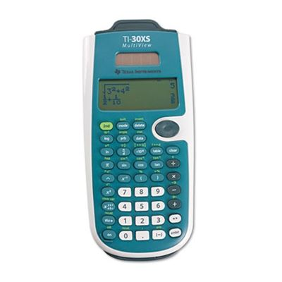 Picture of Texas Instruments TI-30XS MultiView Scientific Calculator, 16-Digit LCD