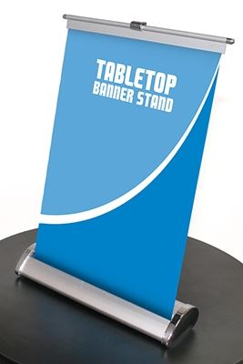 Picture of LexJet Breeze Tabletop Banner Stand