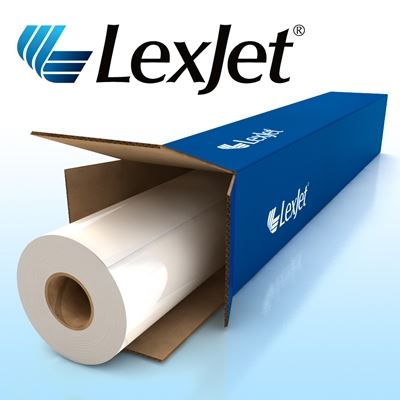 Picture of LexJet CrystalClear Permanent Adhesive- 51in x 150ft