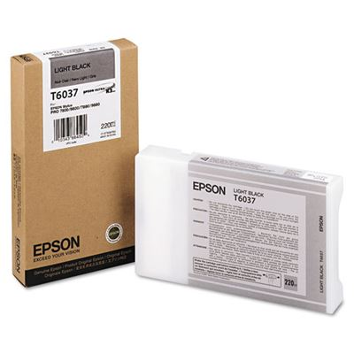 Picture of EPSON 7800/7880/9800/9880 Lt Black K3 UltraChrome Ink- 220 mL