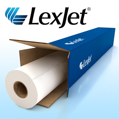 Picture of LexJet TOUGHcoat Water-Resistant Self Adhesive Polypropylene- 50in x 100ft