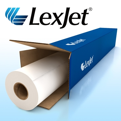 Picture of LexJet TOUGHcoat Water-Resistant Self Adhesive Polypropylene- 36in x 100ft