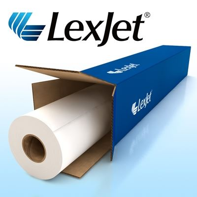 Picture of LexJet TOUGHcoat Water-Resistant Self Adhesive Polypropylene- 24in x 100ft