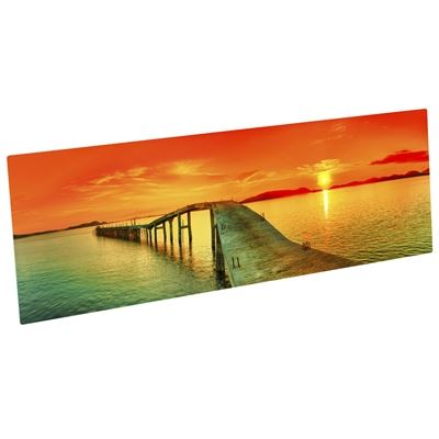 Picture of ChromaLuxe Aluminum Photo Panels - Gloss White- 10in x 30in