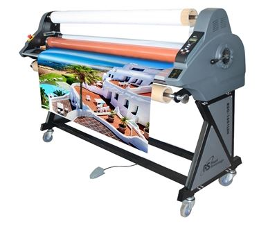 "Picture of Royal Sovereign 65"" Heat Assist Top Roller Wide Format Roll Laminator"