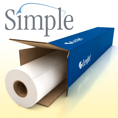 Picture of LexJet Simple Low Tack White Vinyl- 54in x 150ft