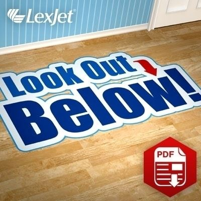 Picture of LexJet Floor and Carpet Graphics Guide