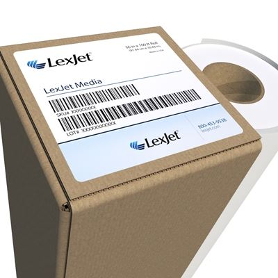 Picture of LexJet Simple Low Tack Clear Vinyl