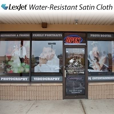 Picture of LexJet Water-Resistant Satin Cloth