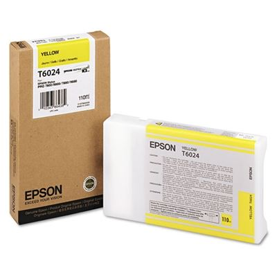 Picture of EPSON 7800/7880/9800/9880 Yellow K3 UltraChrome Ink- 110 mL
