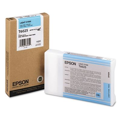 Picture of EPSON Stylus Pro K3 UltraChrome Ink for 7800/7880/9800/9880 - Light Cyan (110 mL)