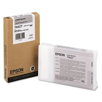 Picture of EPSON Stylus Pro K3 UltraChrome Ink for 7800/7880/9800/9880 - Light Black (110 mL)