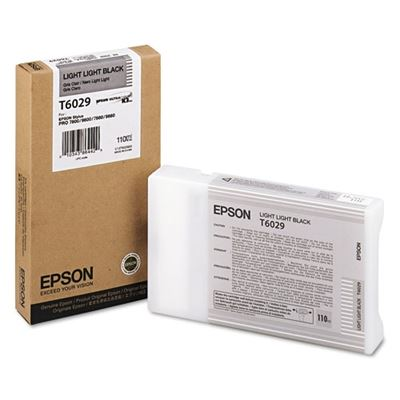 Picture of EPSON Stylus Pro K3 UltraChrome Ink for 7800/7880/9800/9880 - Light Light Black (110 mL)