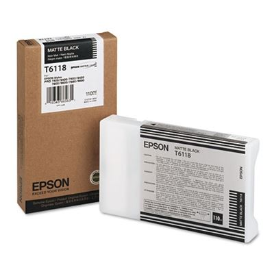 Picture of EPSON Stylus Pro K3 UltraChrome Ink for 7800/7880/9800/9880 - Matte Black (110 mL)