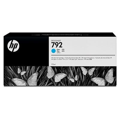 Picture of HP 792 Ink Cartridges for HP Latex 210/260/280 Printers- Cyan