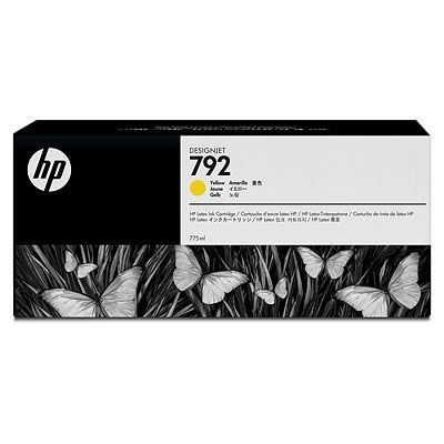 Picture of HP 792 Ink Cartridges for HP Latex 210/260/280 Printers- Yellow