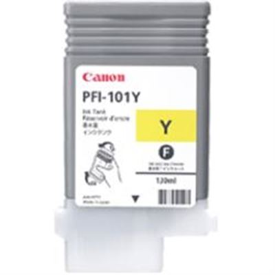 Picture of Canon imagePROGRAF iPF5100/6000S/6100/6200 Yellow Ink - 130 mL