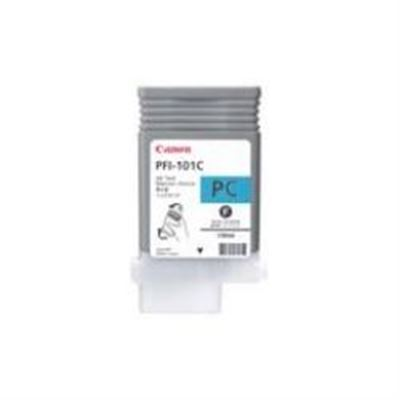 Picture of Canon imagePROGRAF iPF5000 Photo Cyan Ink - 130 mL