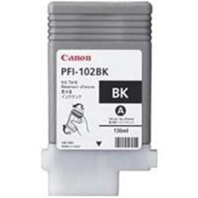 Picture of Canon PFI-102 Ink for imagePROGRAF iPF500/610/710 - Black (130 mL)