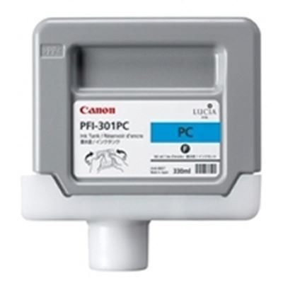 Picture of Canon PFI-301 Ink for imagePROGRAF 9000/8000/9000S/8000S - Photo Cyan (330mL)