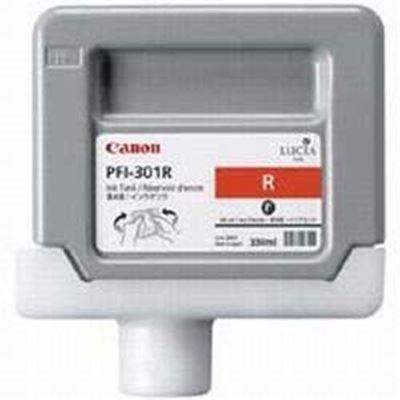 Picture of Canon PFI-301 Ink for imagePROGRAF 9000/8000/9000S/8000S - Red (330mL)