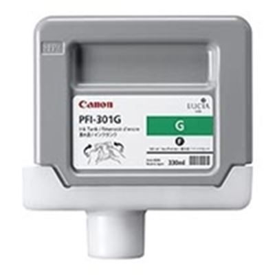 Picture of Canon PFI-301 Ink for imagePROGRAF 9000/8000/9000S/8000S - Green (330mL)