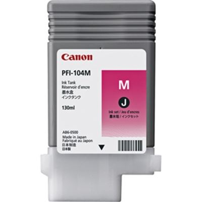Picture of Canon imagePROGRAF 650/655/750/755 Magenta Ink (130 mL)
