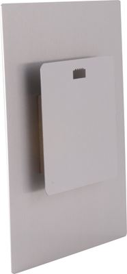 Picture of ChromaLuxe Aluminum Hanger w/ Spacer Block for Photo Panels- 5in x 5in