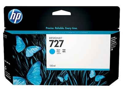 Picture of HP 727 Ink Cartridge- Cyan (130 mL)