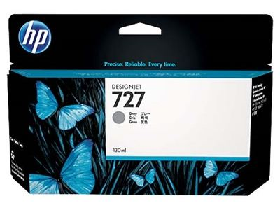 Picture of HP 727 Ink Cartridge- Gray (130 mL)