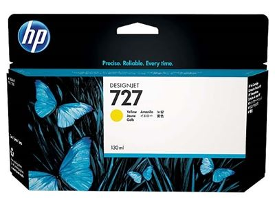 Picture of HP 727 Ink Cartridge- Yellow (130 mL)