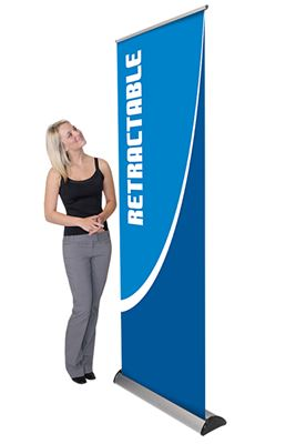 Picture of LexJet Barracuda 920 Retractable Banner Stand - 35.5in