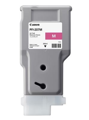 Picture of Canon PFI-207 Ink for imagePROGRAF iPF785/780/685/680 Series - Magenta (300 mL)