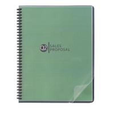 Picture of GBC Clear View Binding Covers- Letter 11in x 8.5in