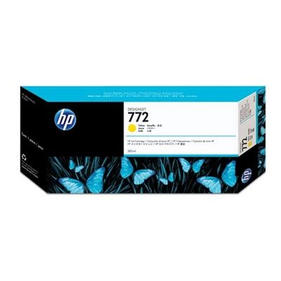 Picture of HP 772 Ink for Designjet Z5200 - Yellow