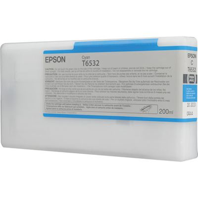 Picture of EPSON UltraChrome HDR Ink for Stylus Pro 4900 - Cyan (200 mL)