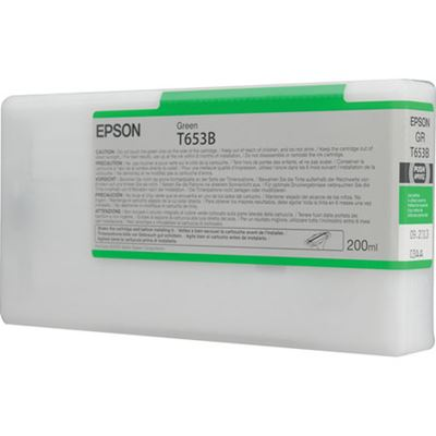 Picture of EPSON UltraChrome HDR Ink for Stylus Pro 4900 - Green (200 mL)