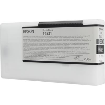 Picture of EPSON UltraChrome HDR Ink for Stylus Pro 4900 - Photo Black (200 mL)